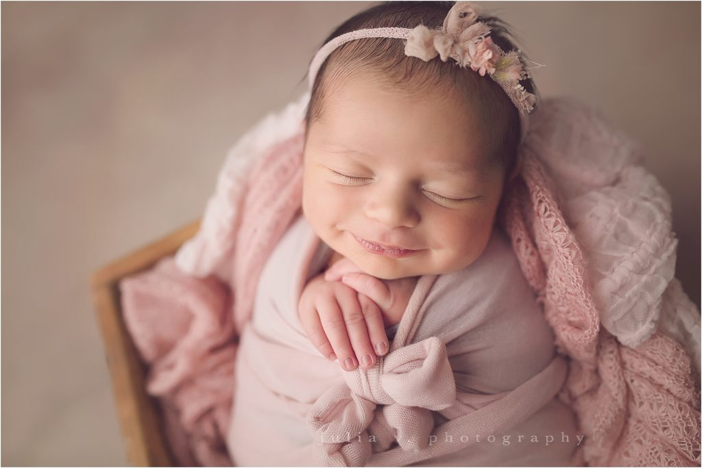 newborn photography Philadelphia sweet baby girl