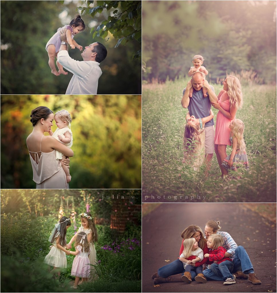 outdoor family portrait photographer philadelphia