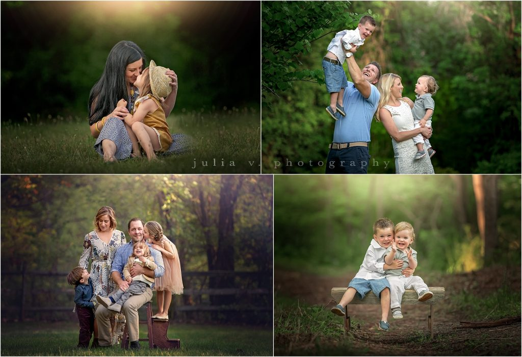 outdoor family portraits in Philadelphia